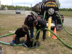 Septic Tank Pumping